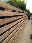 Spaced Planking Fence